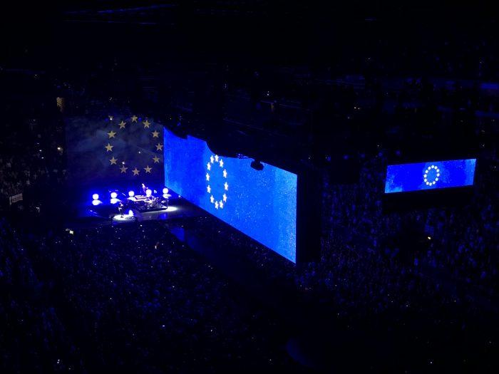 Typisch U2: Politische Statements kamen nicht zu kurz.