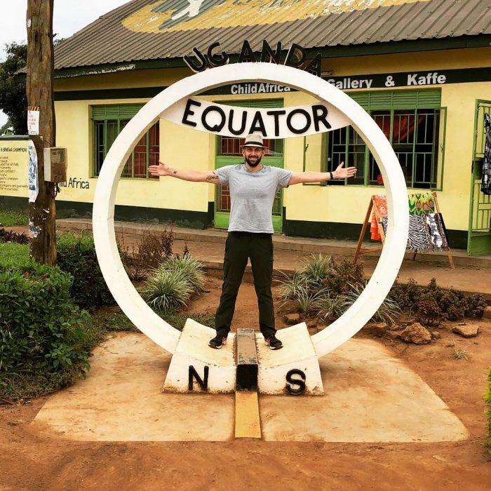 Zwischenstopp am Äquator