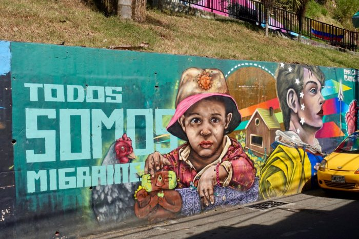 Mit Graffiti wird in der Comuna 13 Geschichtsbewältigung betrieben