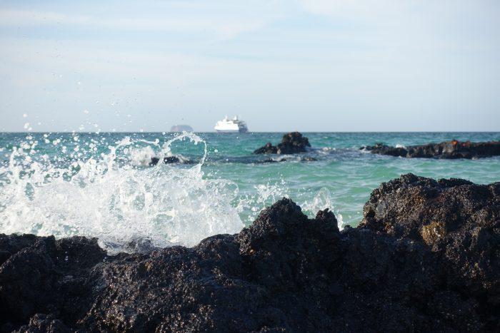 Mit Sonne noch schöner: Galapagos und die Santa Cruz II
