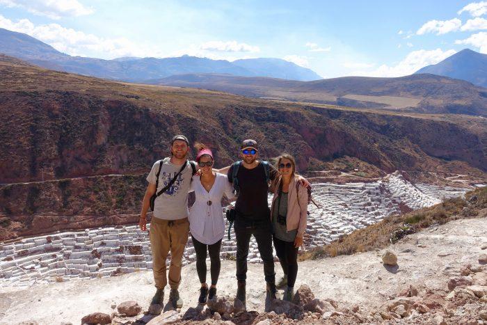 Vor den Salinen in Maras