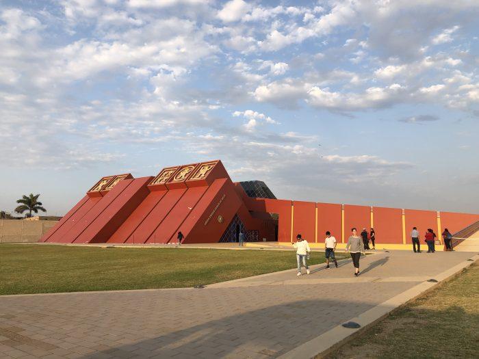 Das Museo Tumbes Reales de Sipan. Eines der wenigen Highlights um Chiclayo