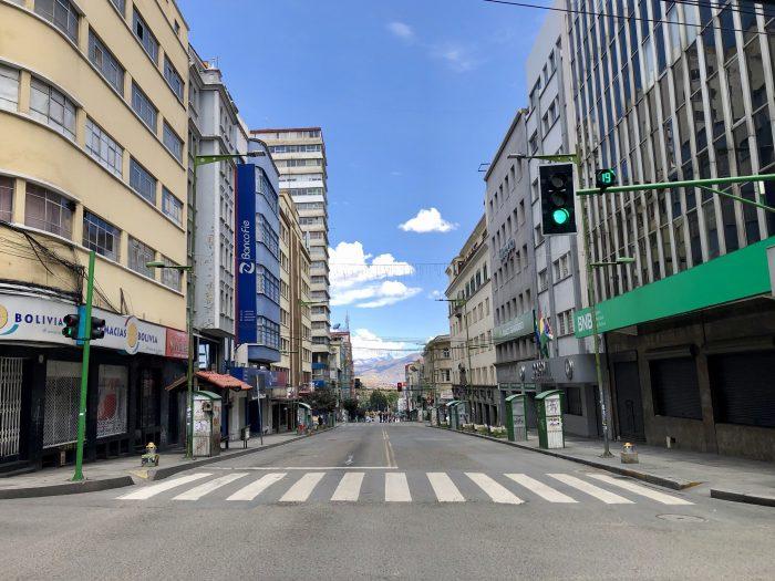Surreal: Millionenstadt angehalten für den Wahltag