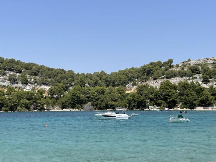 Bucht an der Adria