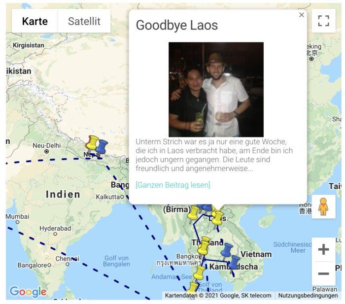 Selbstgebaute Karte per Google Maps Javascript-API